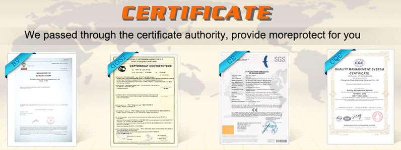 Ellsen certificate