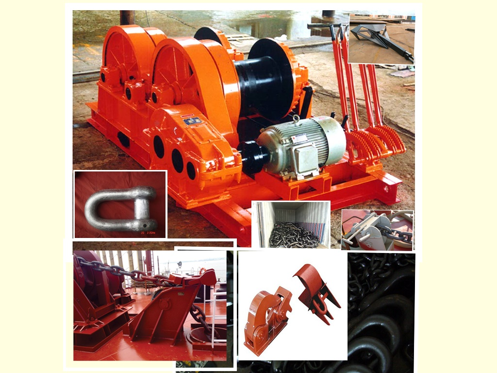 double drum marine hand winch for sale