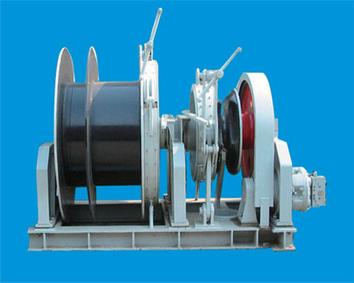 Customized Mine Rope Winch from Ellsen Brand Winch Factory