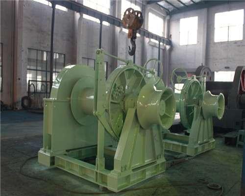 10T Electric mooring winch from Ellsen Brand winch factory