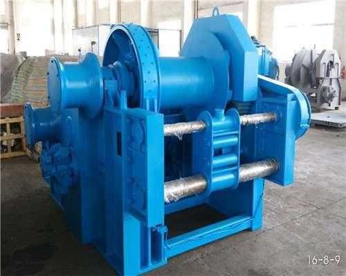 12T hydraulic mooring winch