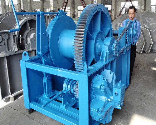 15t hydraulic winch for sale