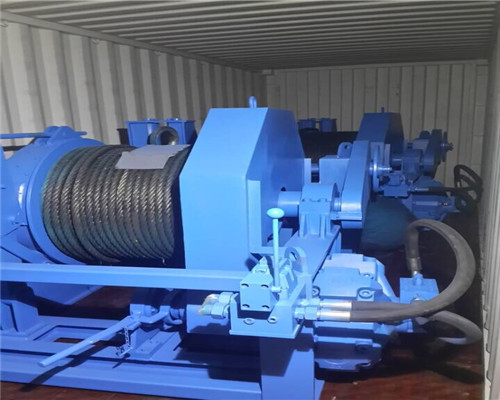 15t hydraulic winch for boats
