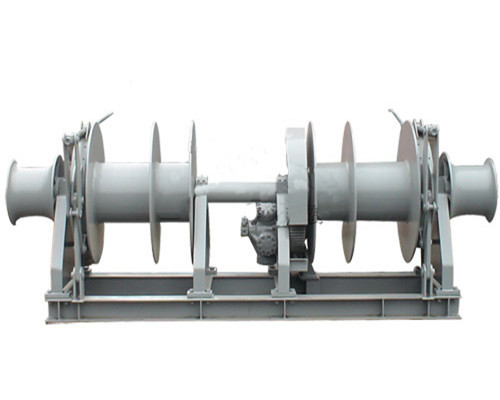 Electric mooring winch from Ellsen Brand winch factory
