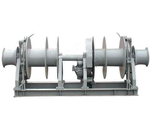 Electric mooring winch from Ellsen Brand winch factory