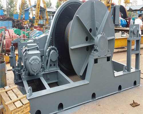 AQ-JM 30 Tons Winch with variable Speed Electric Motor Parameter