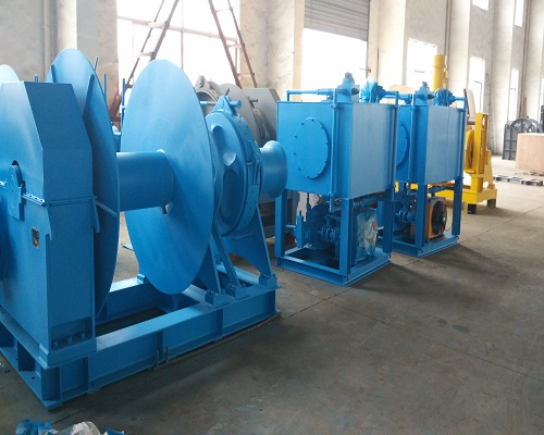 44mm 10 ton hydraulic winch for sale