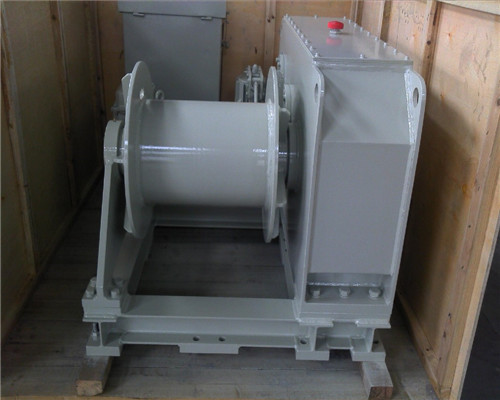 5T single drum mooring winch for sale