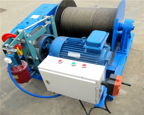 JK 5 Ton Electric Winch for Sale with Electric Control