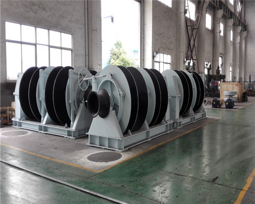 6 sets of 10t china dual brake winches for sale