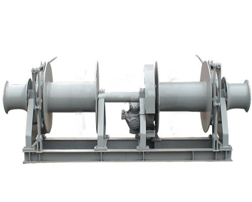 Double drum mooring winch for sale