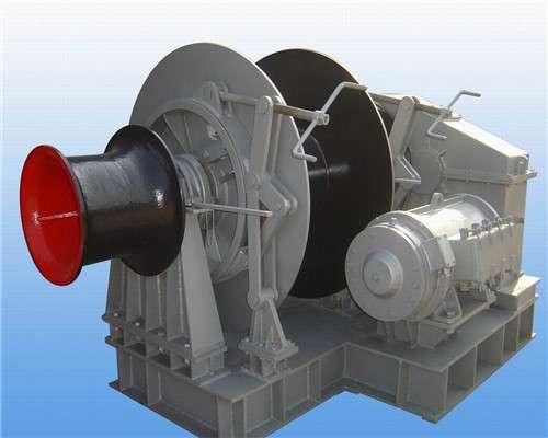 Electric mooring winch from Ellsen winch supplier