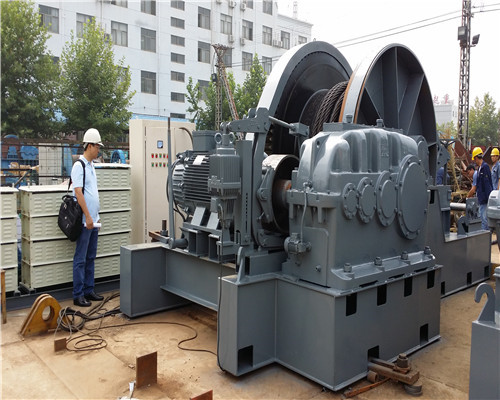 JTP 80 Tons Winch for Sale