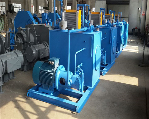 Hydraulic Winch Manufactured from Ellsen Winch Factory