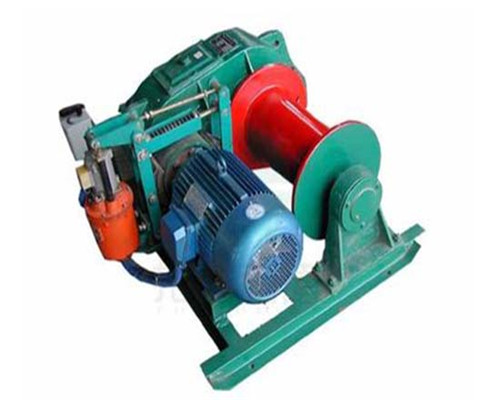 220V- 690V 2 tons AQ-JK Fast Speed Electric Winch for Sale