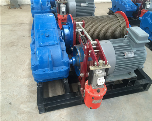 AQ-JK Variable Speed Electric Winch 3 ton for Sale