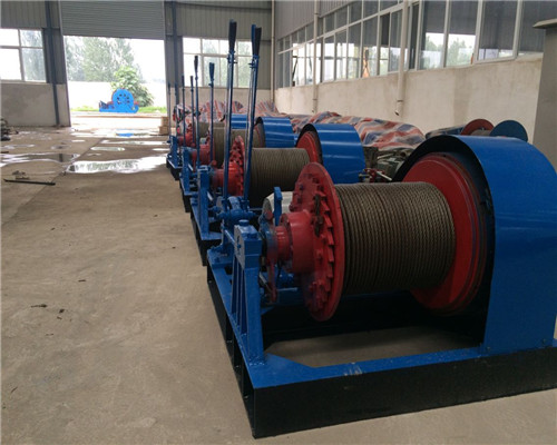 Hot Sale AQ-JMM 20 Tons Variable Speed Winches Specification
