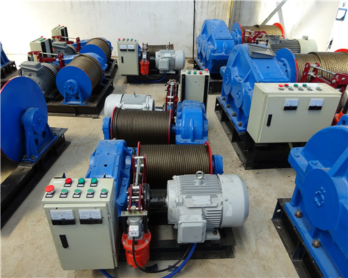 22 sets of Ellsen Variable Speed Winch Exported to Peru