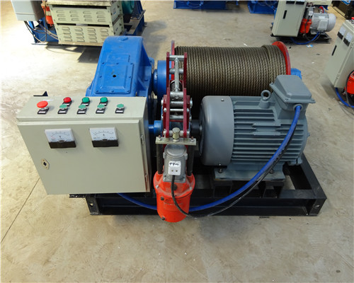 AQ-JTP Variable Speed Electric Winch for Sale