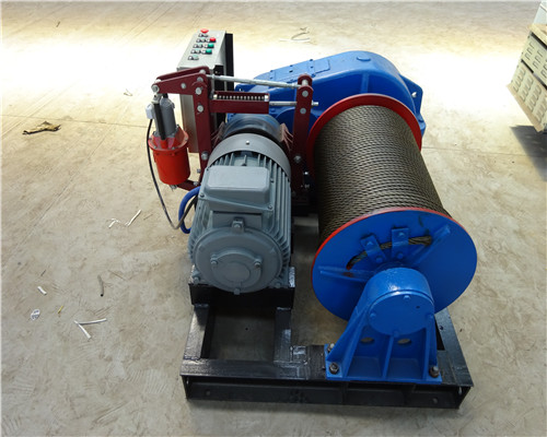AQ-JK 5 Tons Winch ac with Variable Speed Controller for Sale
