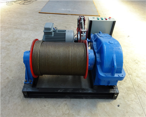 AQ-JK 1 Ton Variable-Speed Electric Winch for Sale
