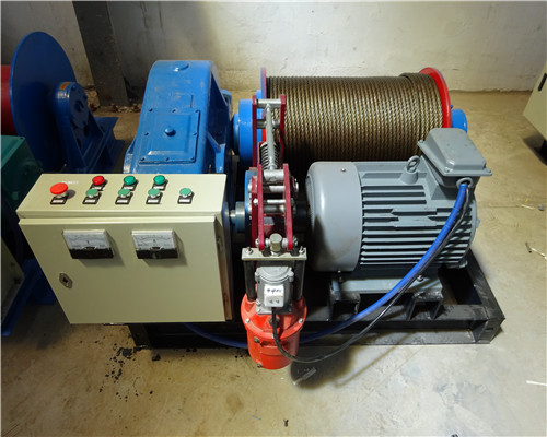 Variable Speed AQ-JM 8 Tons Winch Wholesale