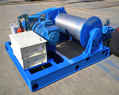 China JM10T Heavy Duty Electric Winch for Sale