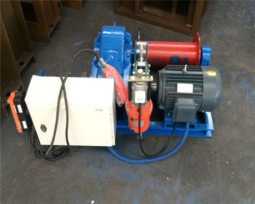 AQ-JM1T electric winch for mine project