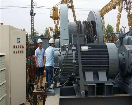 Ellsen Brand JM80t electric winch for vietnam client