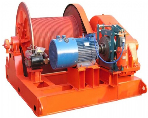 AQ-JM 8t electric winch with wireless control for sale