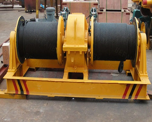 split drum winch for sale from Ellsen Brand Winch Factory