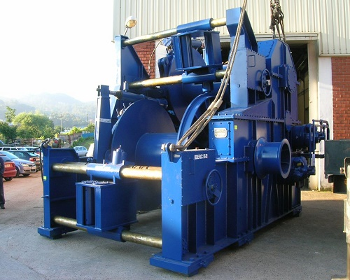 Waterfall 30 ton hydraulic winch for sale
