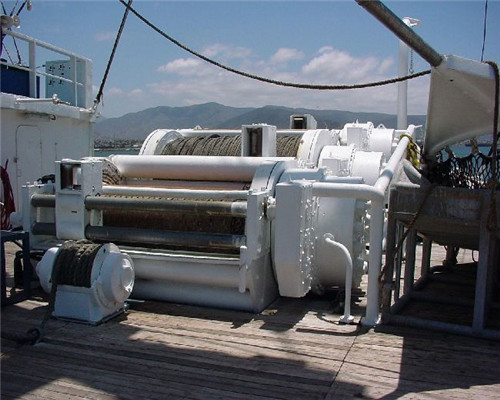 Westec TW 8063 three drum purse seine winch for sale