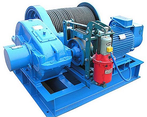 AQ-JK Electric Rope Winch from Ellsen Electric Winch Manufacturer
