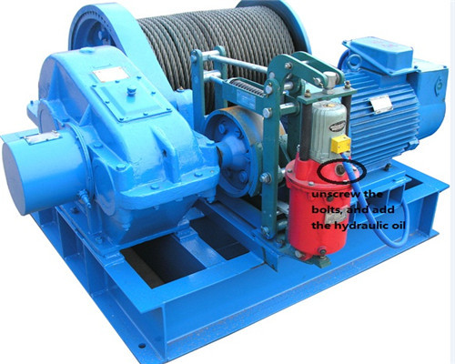 electric rope winch for sale