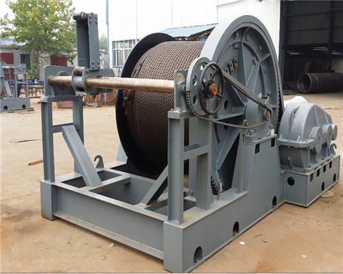 Rope puller winch for sale