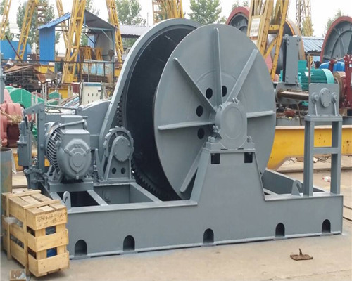 China heavy duty electric winch