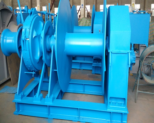 44mm hydraulic marine drum winch for sale