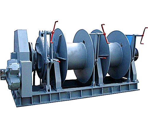 Dual Drum Winch from Ellsen Winch Factory