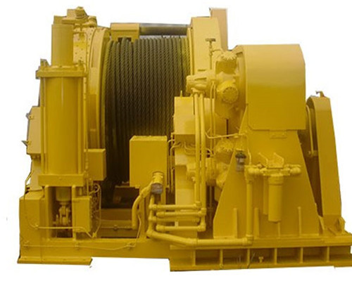 Heavy Duty Single Drum Winch for Sale