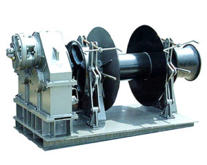 Brand Anchor Drum Winch