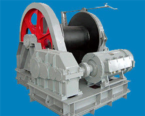 Single drum winch made in China Elslen Winch Factory