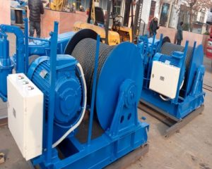 Ellsen 10T JM electric winches for sale