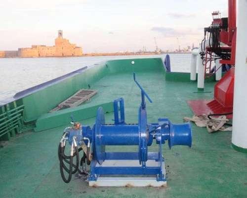 single drum light duty manual boat trailer windlass for sale