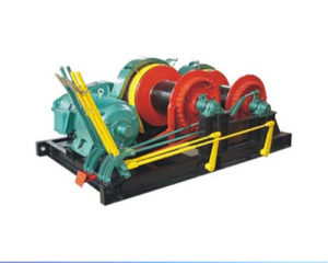Dual Drum Piling Winch for Sale