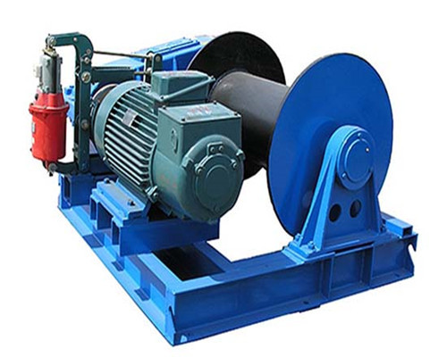 1 tom hydraulic winch