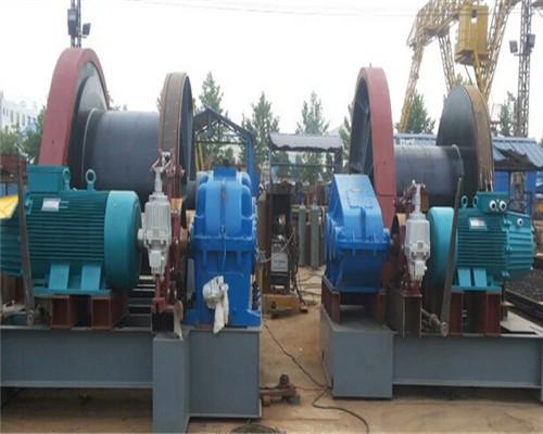 50t and 80t hydraulic winch
