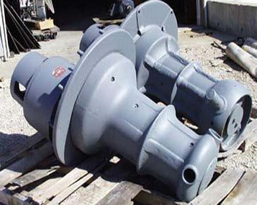 Manual boat anchor winch