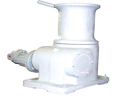 Hydraulic marine capstan anchor winch