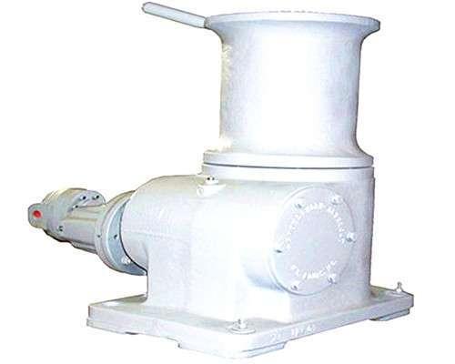Hydraulic marine capstan anchor winch